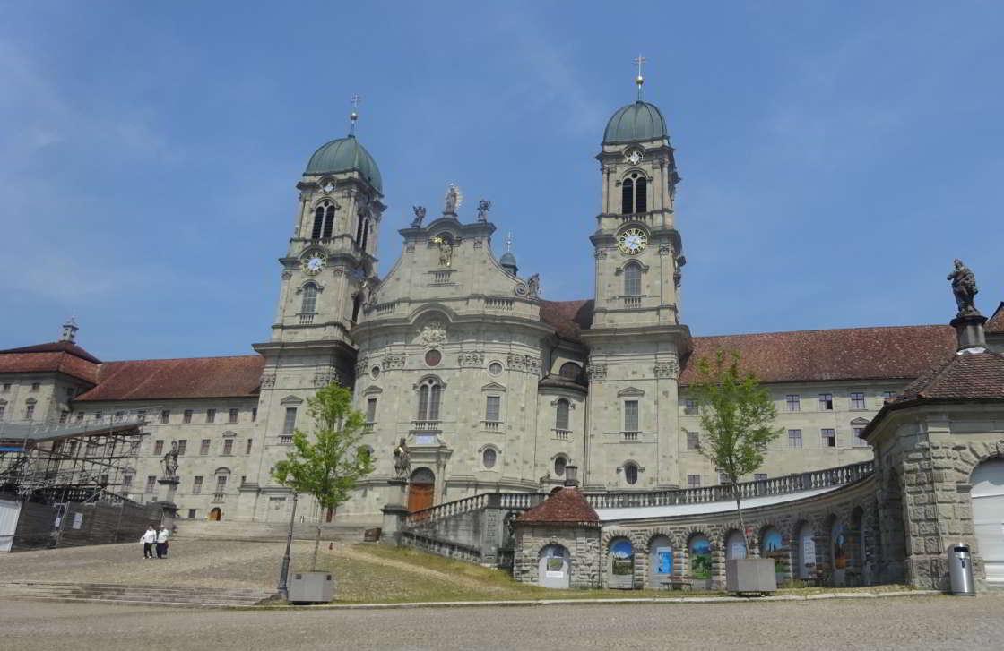 Klooster in Eindsiedeln