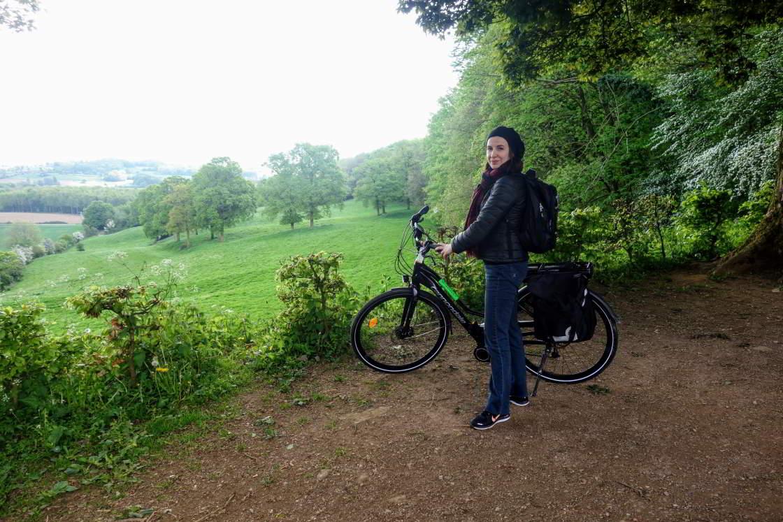 e-bikester op de Catsberg