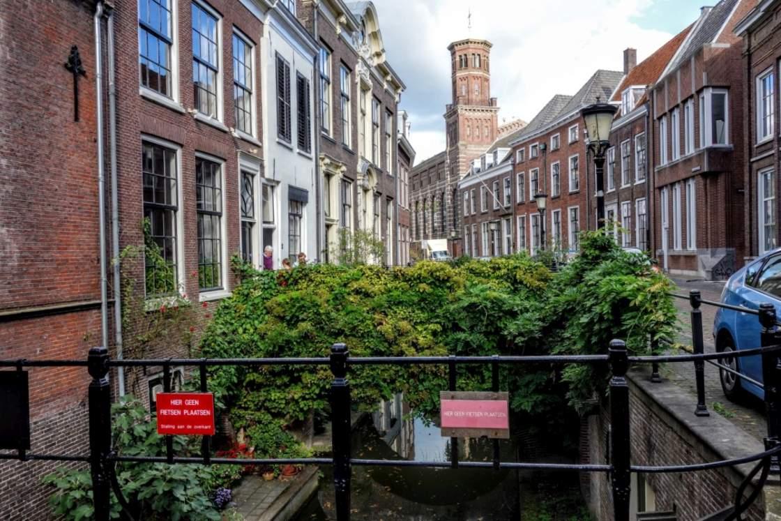 Foto van de Kromme Nieuwegracht in Utrecht