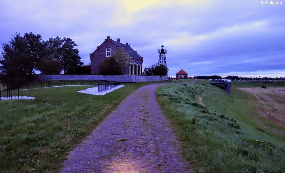 Schokland, voormalig eiland in de polder