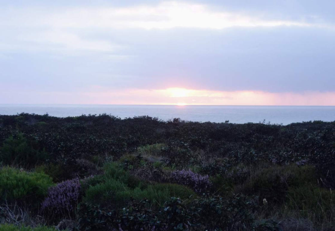 Zonsondergang Atlantische Oceaan bij Alentejo
