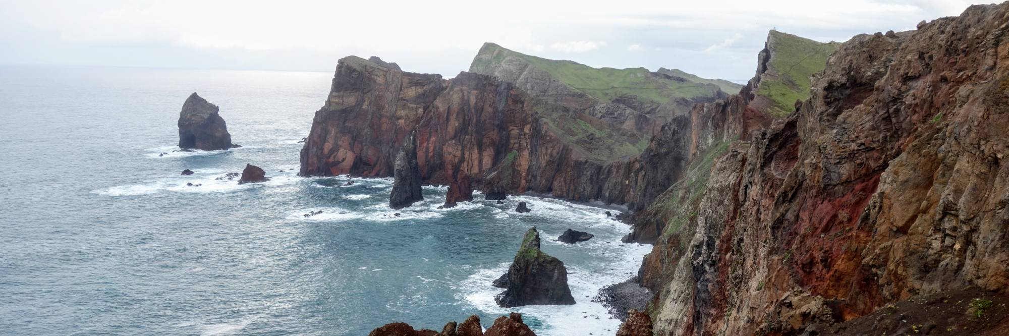het uiterste punt van het eiland Madeira